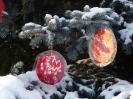 Weihnachtsbaum setzen 2009